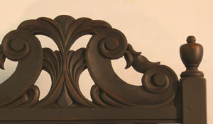 William & Mary Arm Chair Detail