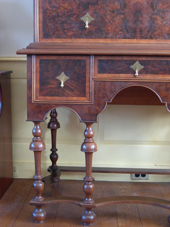 William & Mary Highboy Detail